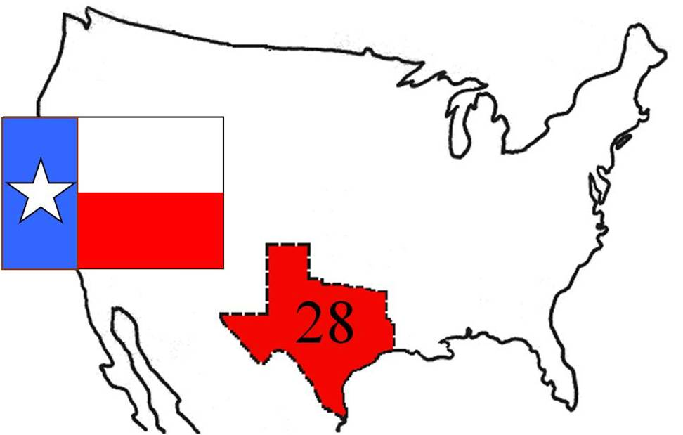 texas annexation The texana series includes the following maps highlighting the creation of the 28th state: the republic of texas 1836, the 1845 annexation of texas and the texas.