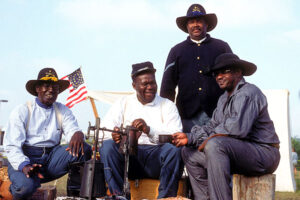 Buffalo Soldiers at Fort Richardson