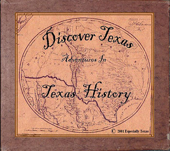 Discover Texas Curriculum cover