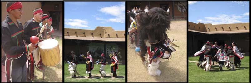 Ysleta del Sur Pueblo dancers