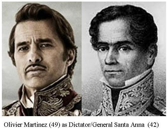 TR_Olivier Martinez as Santa Anna