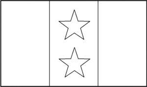 Flag_Coahuila y Tejas