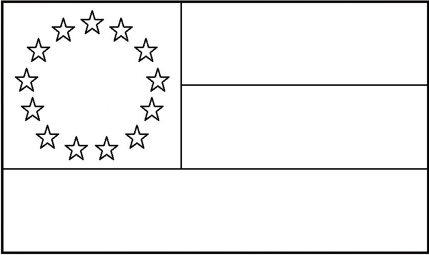 Texas flag on pole coloring page coloring pages for Texas flag coloring page