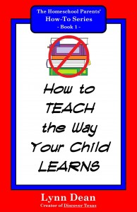 1_How to Teach the Way Your Child Learns_Inner Cover