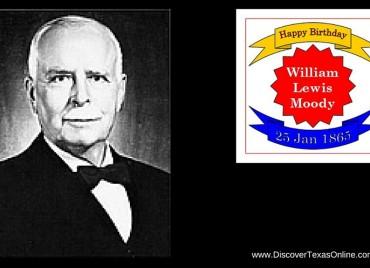 Happy Birthday, William Lewis Moody