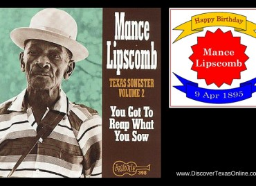 Happy Birthday, Mance Lipscomb!