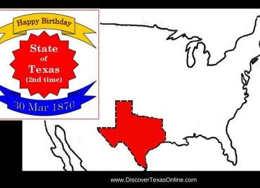 Happy Birthday, Texas…Again!