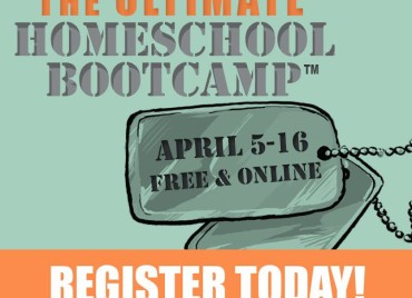 Speaking Tomorrow at HECOA's Ultimate Homeschool Bootcamp!
