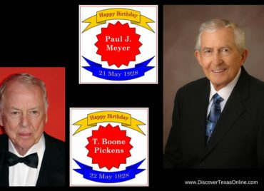 Happy Birthday, Paul J. Meyer and T. Boone Pickens!