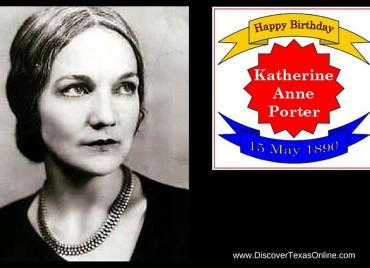 Happy Birthday, Katherine Anne Porter!