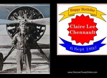 Happy Birthday, Claire Lee Chennault!