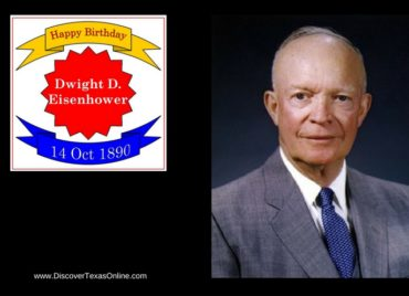 Happy Birthday, President Dwight D. Eisenhower!
