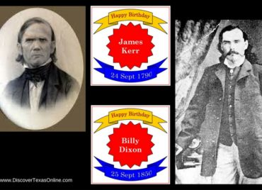 Happy Birthday, James Kerr and Billy Dixon!