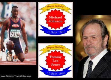 Happy Birthday, Tommy Lee Jones and Michael Johnson!