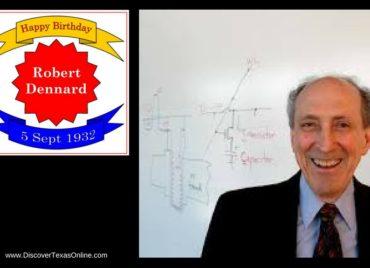 Happy Birthday, Robert Dennard!