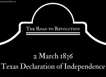 Road to Revolution: Texas Independence Day!