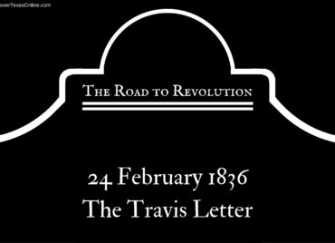 Road to Revolution: The Travis Letter