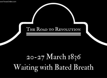 Road to Revolution: Waiting with Bated Breath