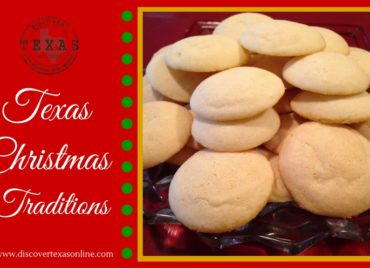 Texas Christmas Traditions – Anise White Cap Cookies