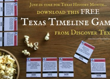 FREE GAME for Texas History Month!